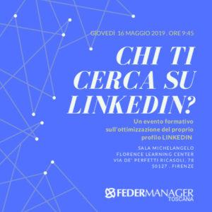 Federmanager - Chi ti cerca su LinkedIn?