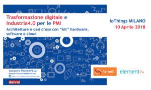 IoThings Milano Farnell